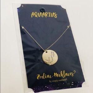 🌺 Simply Southern Zodiac Necklace   Aquarius